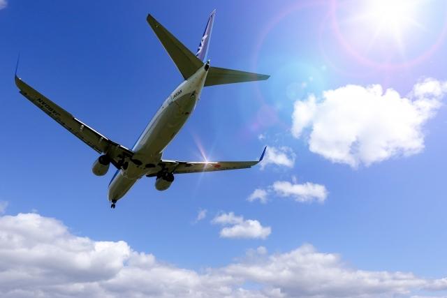 国内旅行 飛行機