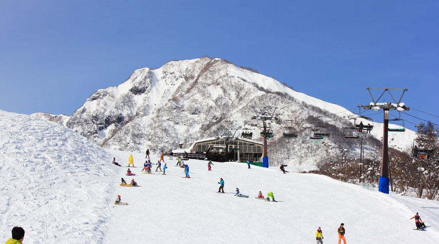 赤倉温泉スキー場 ゲレンデ