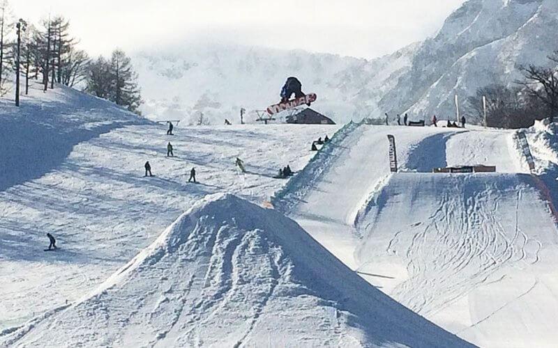 赤倉温泉スキー場 キッカー