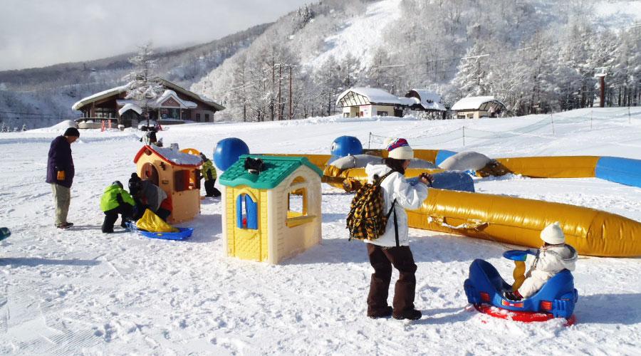 赤倉温泉スキー場 キッズパーク