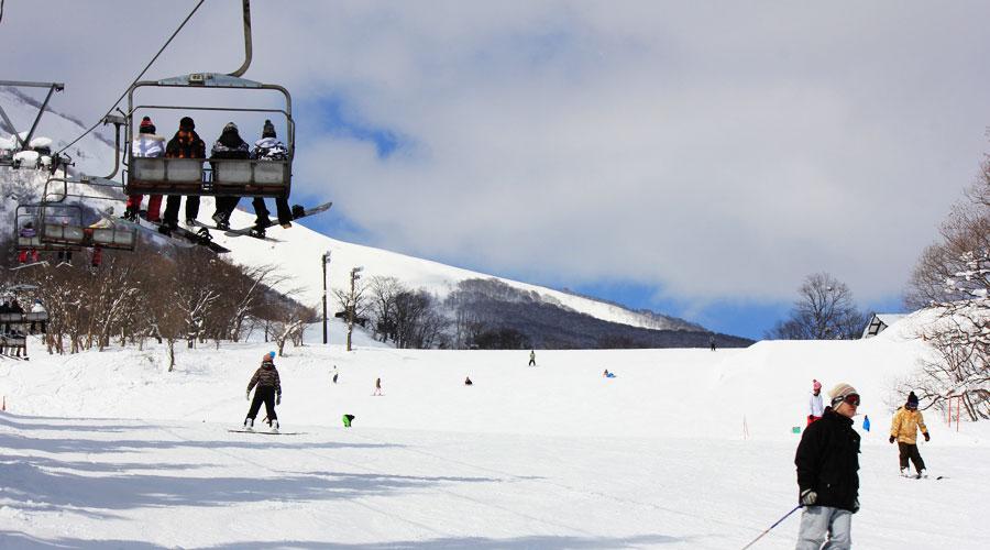赤倉温泉スキー場 くまでゲレンデ
