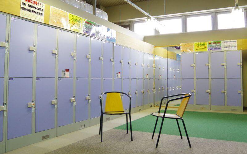 グランデコ ロッカー・更衣室