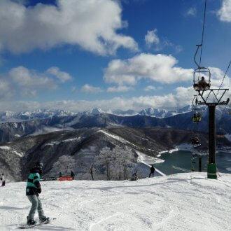 かぐらスキー場 リフト