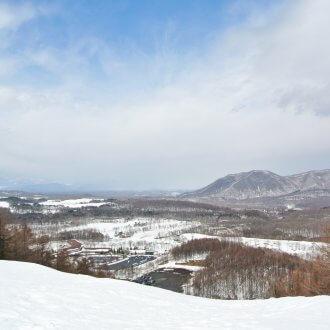 軽井沢スノーパークからの眺め