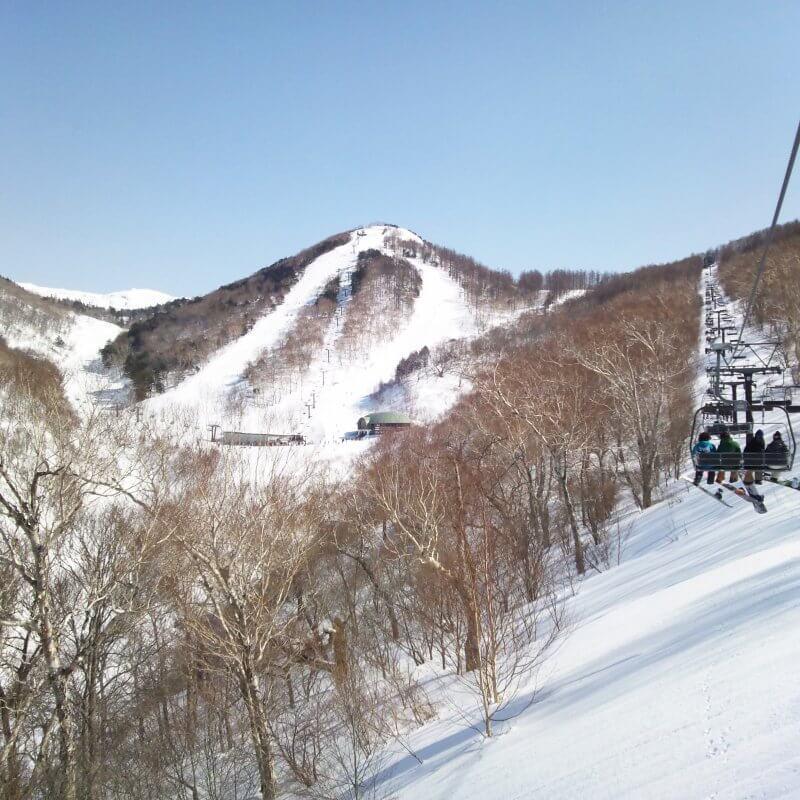 川場スキー場 リフト
