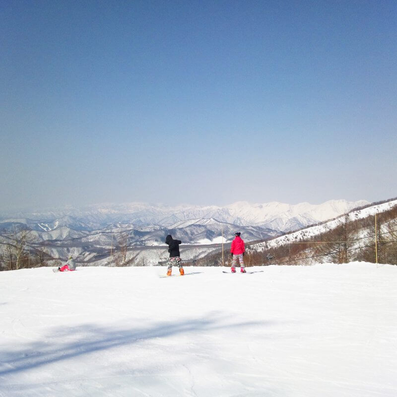 川場スキー場 スノーボード