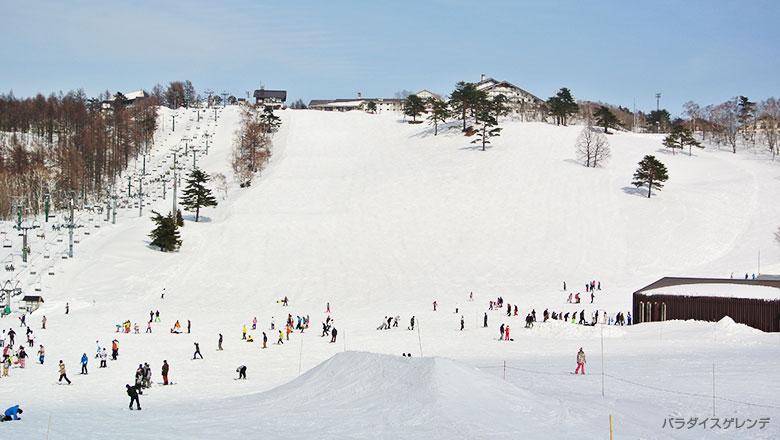 斑尾高原スキー場 パラダイス