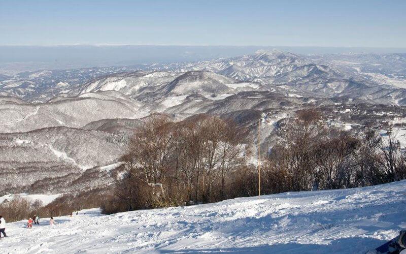 斑尾高原スキー場 眺め