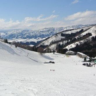 野沢温泉スキー場 ゲレンデ景色