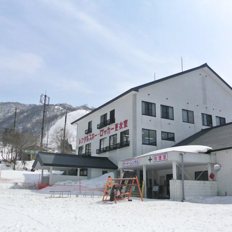 グランスノー奥伊吹 レンタルスキー場
