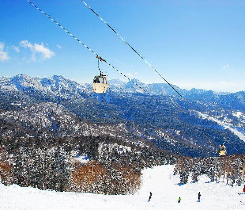 志賀高原スキー場 東館山