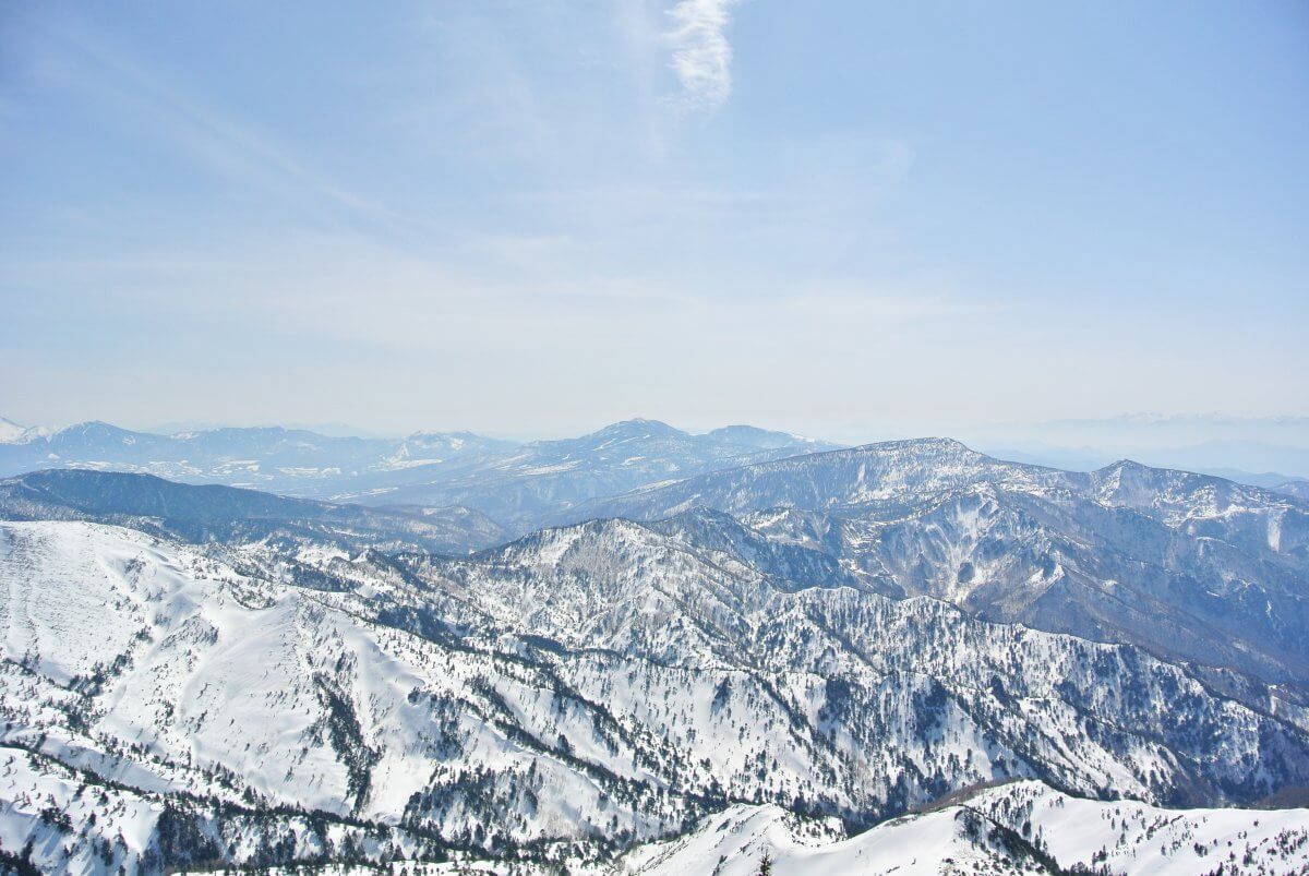 志賀高原スキー場 横手山・渋峠スキー場 景色