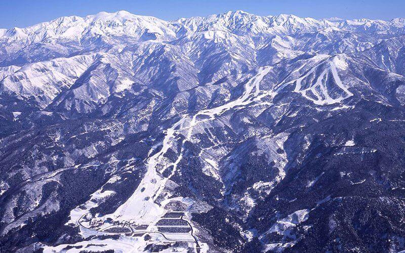 スキージャム勝山 景観