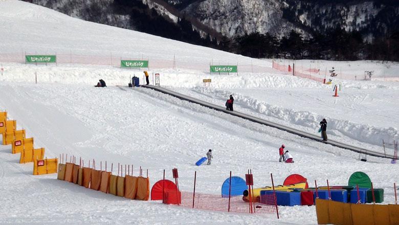 スキージャム勝山 キッズコース
