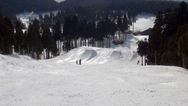 スキージャム勝山 パーク