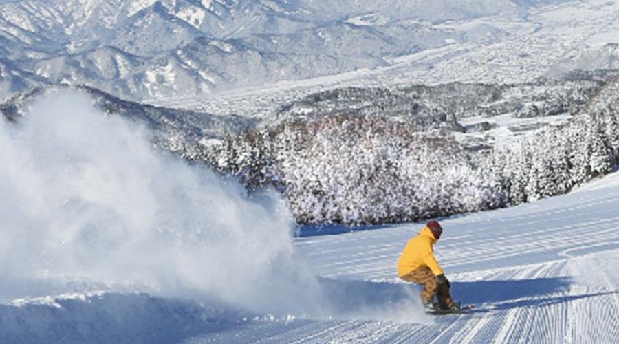 スキージャム勝山 スノボ