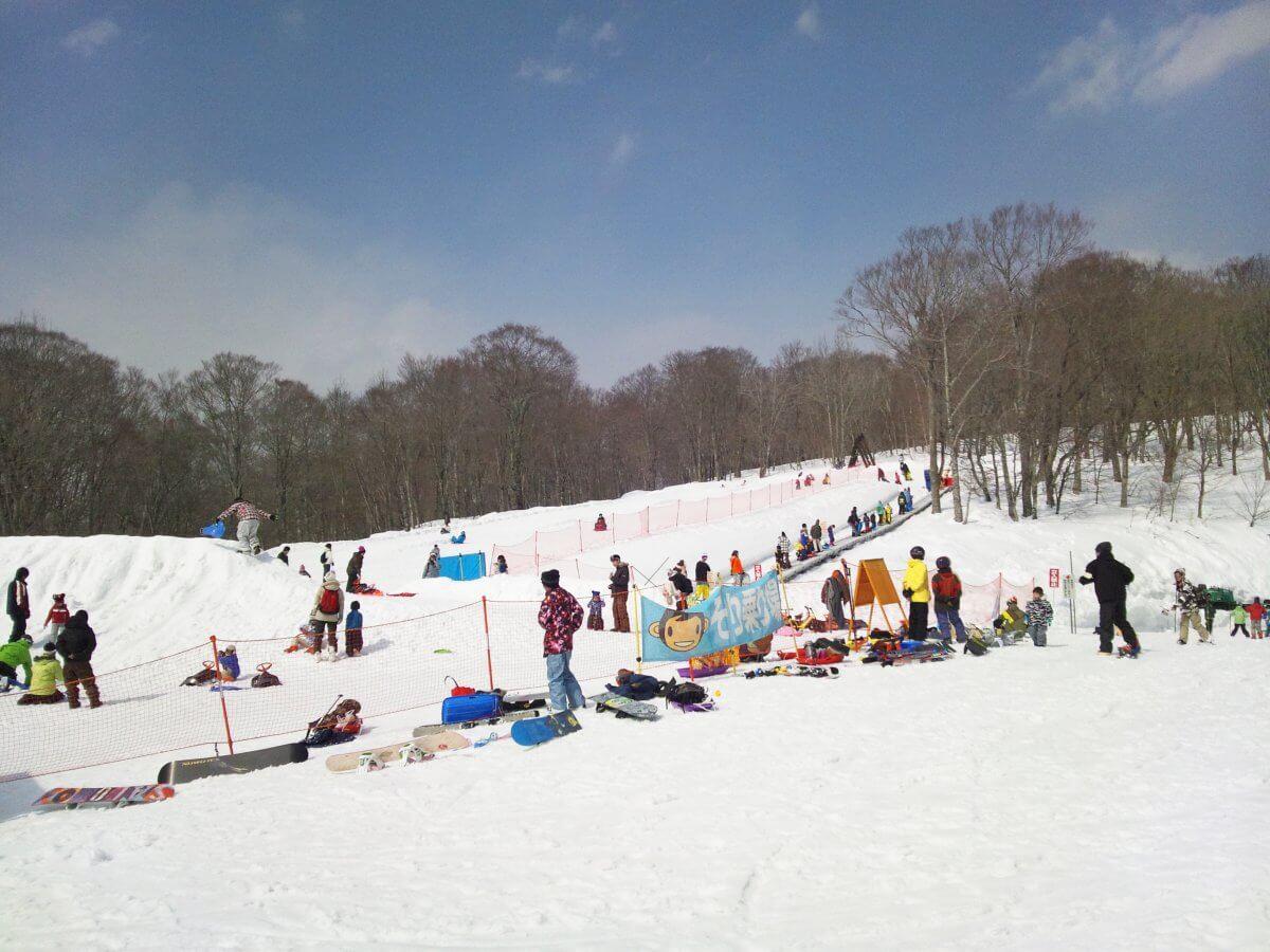 たんばらスキーパーク 景色