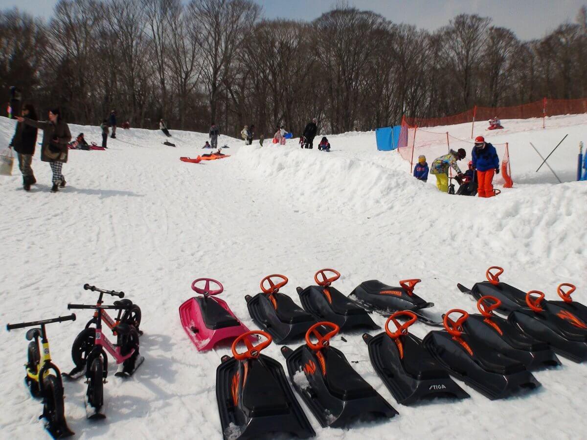 たんばらスキーパーク ソリ