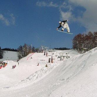 鷲ヶ岳スキー場 スノーボード